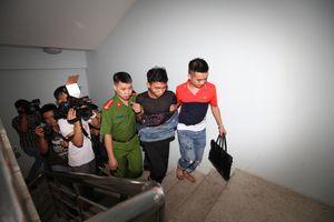 Di lý 2 nghi phạm sát hại nam sinh chạy Grab về Hà Nội trong đêm