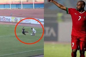 'Hung thần' đội tuyển Indonesia vào bóng như muốn đá gãy giò đối thủ