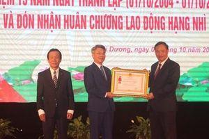 Sở Thông tin và Truyền thông tỉnh Hải Dương đón nhận Huân chương Lao động hạng Nhì