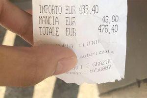 Cô gái Việt muốn thử 100 gr cá ở Rome, bị ép trả tiền 4,8 kg