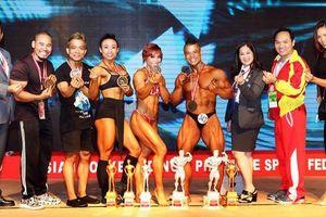 Thể hình Việt Nam giành 5 ngôi vô địch châu Á