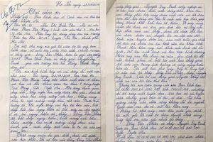 Mẹ nam sinh viết thư cảm ơn 2 thầy giáo Nghệ An cứu con thoát đuối nước