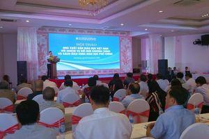 Cụ thể hóa yêu cầu của chương trình mới vào SGK giáo dục phổ thông