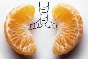 Thực phẩm giúp bảo vệ phổi chống ô nhiễm không khí