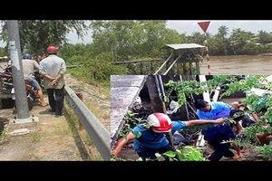 5 công nhân nhà máy nước bị điện giật thương vong
