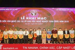 Hơn 1.000 HSSV tham gia Hội diễn Văn nghệ các cơ sở giáo dục nghề nghiệp toàn quốc tại Hà Tĩnh