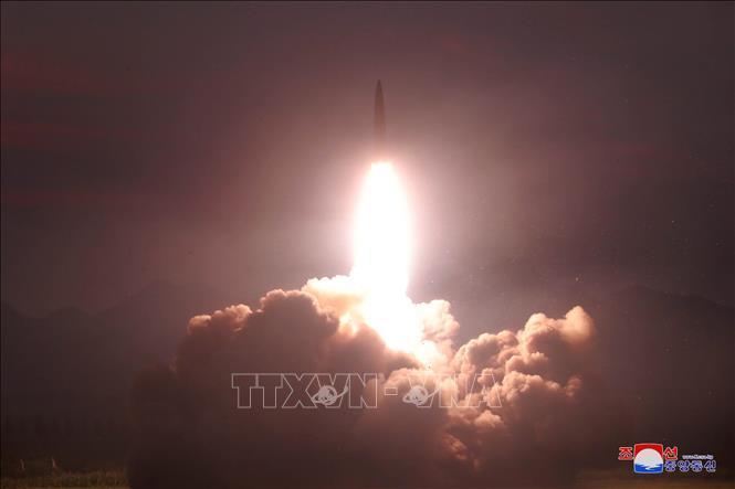 Nhật Bản tuyên bố phối hợp cùng Mỹ đối phó với vụ thử tên lửa của Triều Tiên