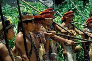 Hãi hùng bộ tộc chặt đầu người làm... huy chương