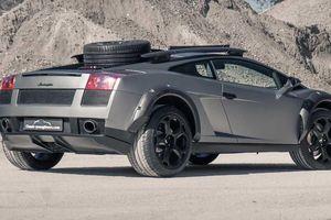 Lamborghini Gallardo nâng gầm, vượt địa hình như xe SUV
