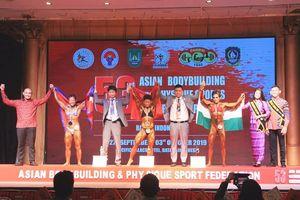 Thể hình Việt Nam giành 9 ngôi vô địch châu Á