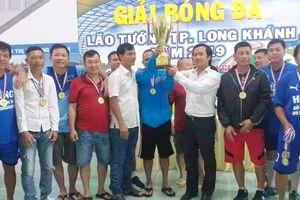 FC 1985 vô địch Giải bóng đá lão tướng TP.Long Khánh 2019