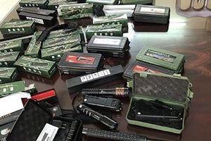 Công an tỉnh Lạng Sơn thu giữ công cụ hỗ trợ vô chủ