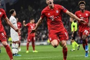 Bayern thắng Tottenham 7-2