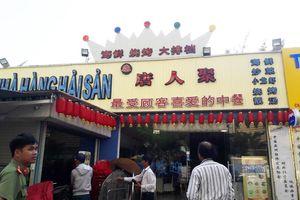 Kiểm tra 'phố người Hoa' gần Sân bay Nước Mặn Đà Nẵng, phát hiện nhiều biển hiệu quảng cáo sai phạm