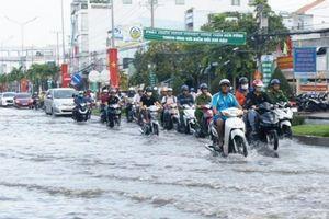 ĐBSCL: Nhiều tỉnh, thành ngập trong nước do triều cường