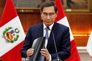 Tổng thống Peru giải tán Quốc hội, thanh trừ nạn tham nhũng