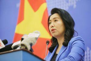 Bộ Ngoại giao nói về tin tàu Trung Quốc không cứu hộ tàu cá VN