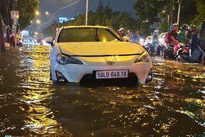 Nâng đường Nguyễn Hữu Cảnh thêm 1,2 mét