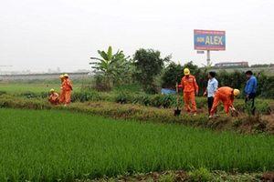 Huyện Phú Xuyên bàn giao mặt bằng xây TBA 110 kV