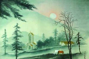 Trưng bày tác phẩm của hai họa sĩ Văn Giao và Lê Văn Xương