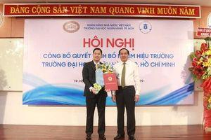 Trường ĐH Ngân hàng TP HCM có tân hiệu trưởng