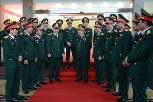 Đại tướng Ngô Xuân Lịch thăm, làm việc tại Bộ tư lệnh Quân khu 1