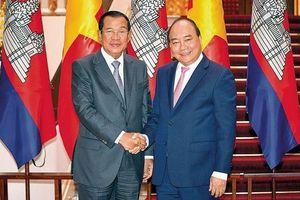 Thủ tướng Campuchia thăm Việt Nam: Làm sâu sắc hơn quan hệ Việt Nam-Campuchia