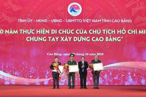 Chương trình '50 năm thực hiện Di chúc của Chủ tịch Hồ Chí Minh, chung tay xây dựng Cao Bằng'