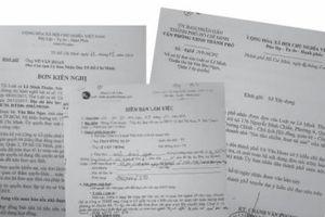 Chuyển nội dung tố giác đến Phòng CSKT giải quyết theo quy định