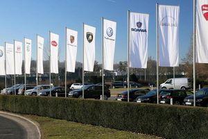 Các nhà sản xuất ôtô lớn đang sở hữu thương hiệu nào?