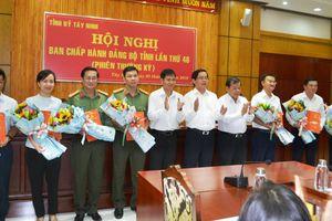 7 lãnh đạo tỉnh Tây Ninh được chỉ định vào Ban Chấp hành Đảng bộ
