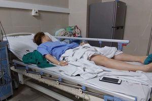 Suýt chết vì hút mỡ bụng, cánh tay tiêm lên ngực ở cơ sở chui