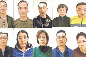 Kết luận điều tra vụ 10 đối tượng ở Hà Nội cho vay lãi suất 'cắt cổ'