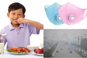 Mẹ học ngay 6 cách phòng bệnh cho trẻ trước ô nhiễm không khí nghiêm trọng hiện nay