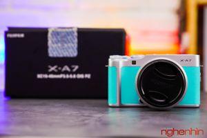Trên tay Fujifilm XA7 máy ảnh chuyên nghiệp cho người ' mới chơi'
