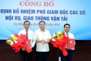Đà Nẵng: Bổ nhiệm cùng lúc 2 Phó Giám đốc sở