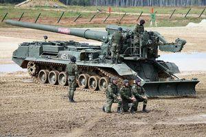 Sự thật pháo tự hành 2S7M Malka khai hỏa chính xác 'như súng bắn tỉa'