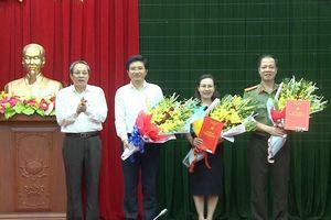 Nhân sự mới tại Nghệ An, Quảng Bình