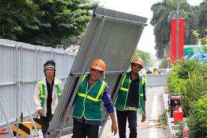 Hà Nội cấm xe nhiều tuyến phố để xây dựng đường đua xe F1