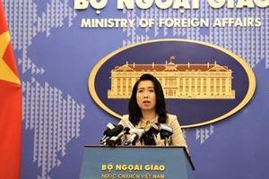 Phản đối Trung Quốc tuyên truyền bằng thông tin sai lệch