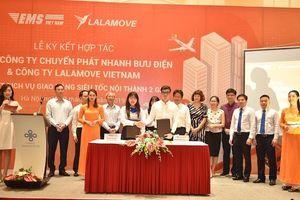 EMS Việt Nam triển khai giao hàng nội thành siêu tốc trong 2 giờ