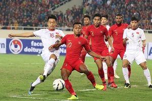 Indonesia thay đổi sân đấu tiếp đón Việt Nam