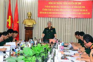 Thượng tướng Nguyễn Chí Vịnh thăm, làm việc tại Bệnh viện Quân y 175 về các bệnh viện dã chiến cấp 2