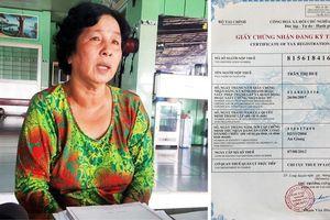 Cục thuế tỉnh An Giang xin lỗi bà Trần Thị Huệ và trả lại số tiền nộp phạt sai
