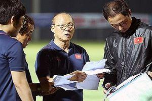 Thầy Park chính thức chốt danh sách ĐT Việt Nam cho trận đấu với Malaysia