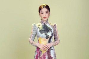 Á hậu Kim Thảo khoe vẻ đẹp nền nã với áo dài