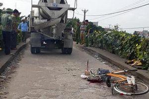 Cháu bé 10 tuổi tử vong thương tâm dưới bánh xe bồn
