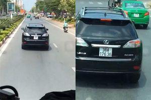 Tài xế xe Lexus không chịu nhường đường cho xe cứu hỏa ở Nghệ An