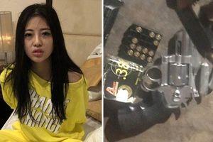 Phát hiện 'kho' súng đạn tại nơi ở của hotgirl 9X trong đường dây buôn ma túy xuyên quốc gia