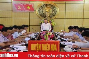 Đẩy nhanh tiến độ thực hiện dự án Trung tâm chế biến nông sản thực phẩm công nghệ cao Lam Sơn